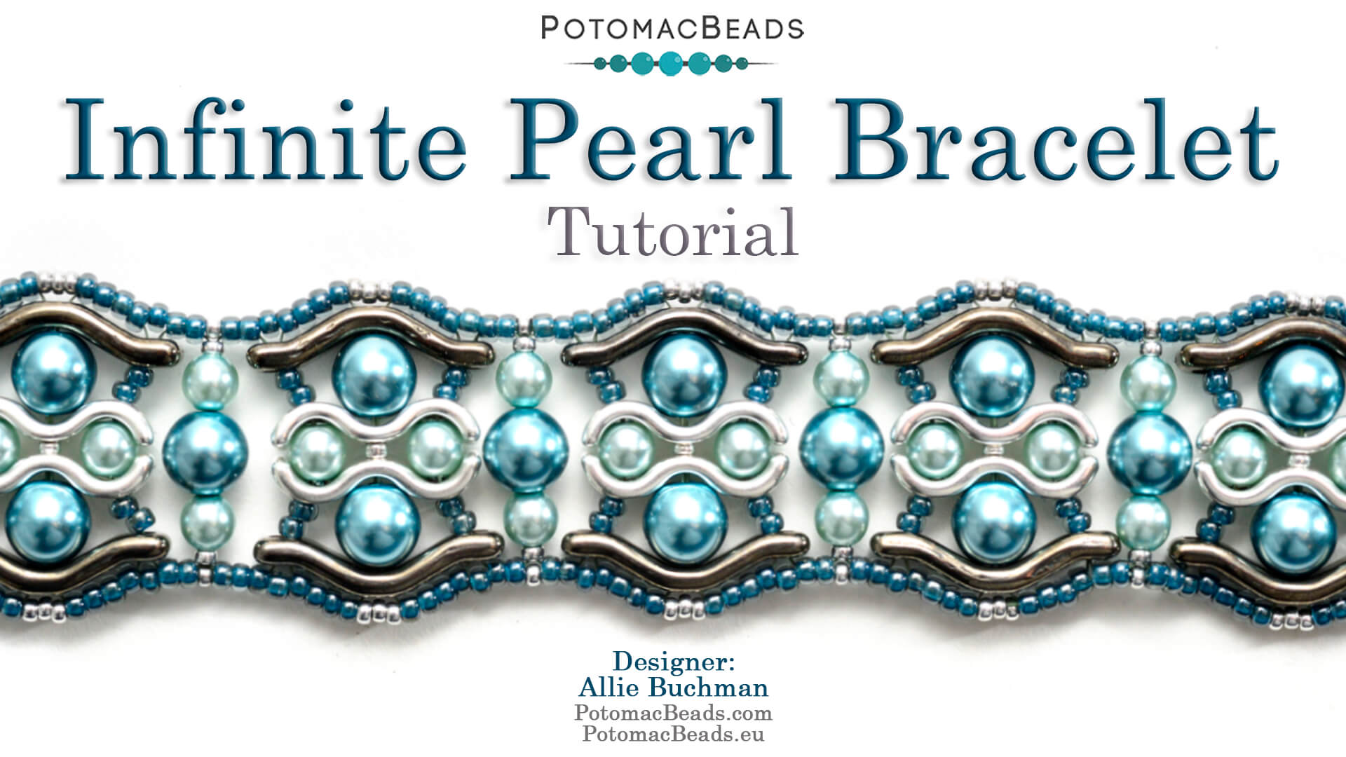 How to Bead Jewelry / Videos Sorted by Beads / Pearl Videos (Czech, Freshwater, Potomac Pearls) / Infinite Pearl Bracelet Tutorial