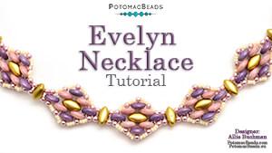 How to Bead Jewelry / Beading Tutorials & Jewel Making Videos / Bead Weaving Tutorials & Necklace Tutorial / Evelyn Necklace Tutorial
