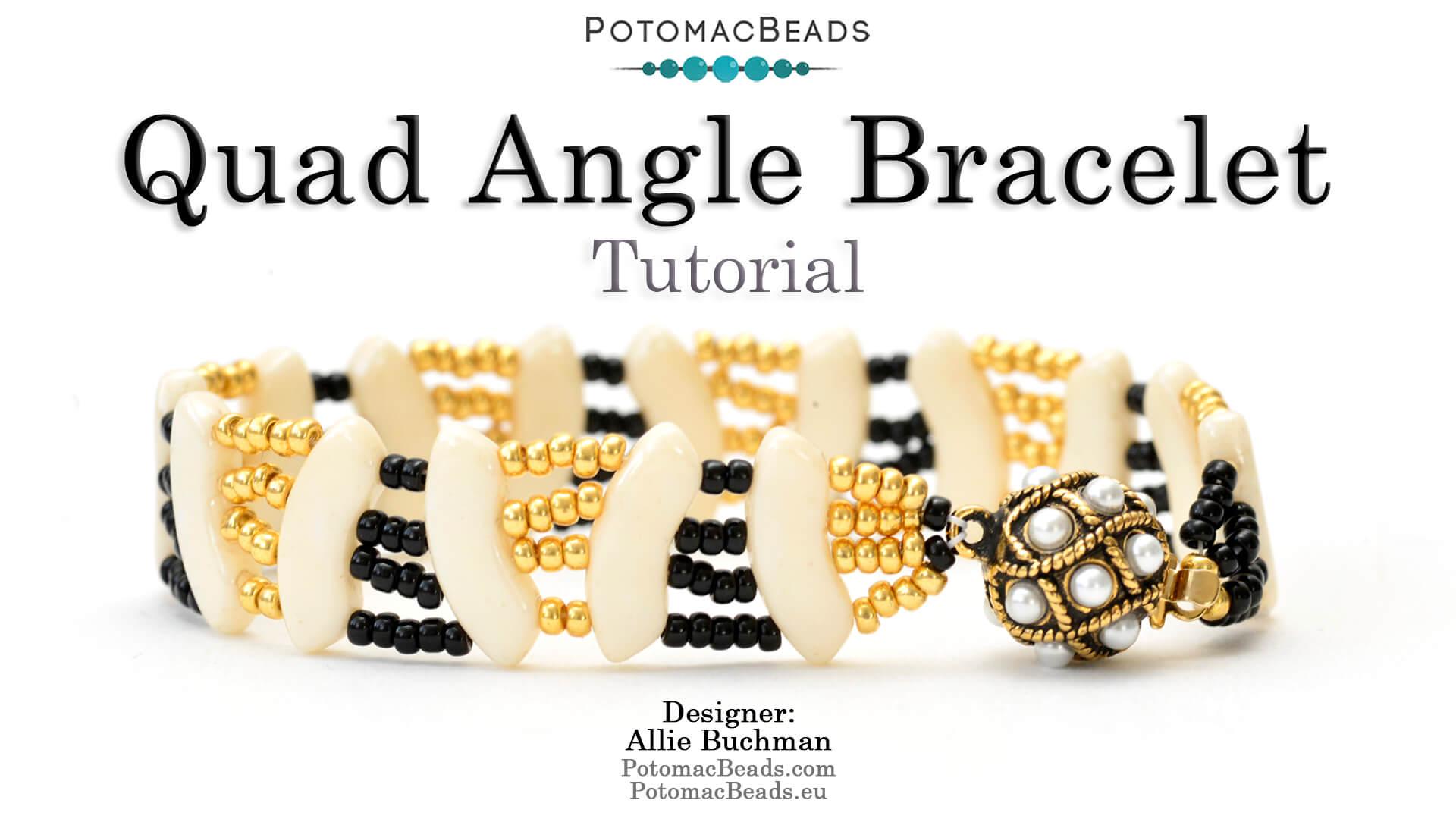 Quad Angle Bracelet Tutorial