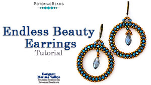 How to Bead Jewelry / Beading Tutorials & Jewel Making Videos / Earring Projects / Endless Beauty Earrings Tutorial