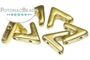 AVA Beads - Crystal Amber Full (Factory Pack of 100)