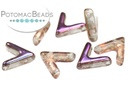 AVA Beads - Crystal Sliperit (Factory Pack of 100)