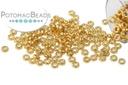 Miyuki Spacer - Duracoat Galvanized Gold 2.2x1mm