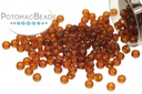 Miyuki Seed Beads - Transparent Extra Dark Topaz 11/0