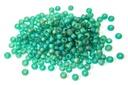 Miyuki Seed Beads - Matte Transparent Emerald AB 11/0