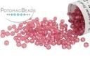 Miyuki Seed Beads - Dyed Dark Rose Silver Lined Alabaster 11/0