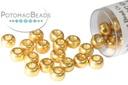 Miyuki Seed Beads - Duracoat Galvanized Gold 6/0