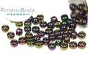 Miyuki Seed Beads - Metallic Dark Plum Iris 8/0