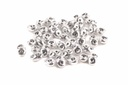 SuperDuo Beads - Crystal Labrador Full (Silver)