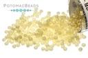 Miyuki Seed Beads - Matte Opaque Dark Cream AB 15/0