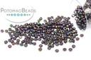 Miyuki Seed Beads - Metallic Dark Plum Iris 15/0