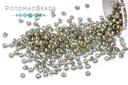 Miyuki Seed Beads - Opaque Smoky Gray Luster 15/0
