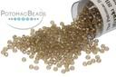 Miyuki Seed Beads - Sparkle Taupe Lined Smoky Amethyst 15/0