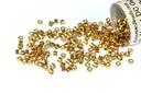 DB1834 Miyuki Delica Beads Duracoat Galvanized Champagne 11/0