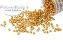 Miyuki Seed Beads - Duracoat Galvanized Yellow Gold  15-4203