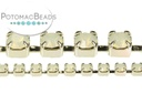 Cup Chain - Opal Silver SS14.5 (per inch)