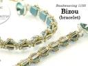 Bizou Bracelet Pattern by Allie Buchman