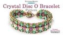 Crystal Disc O Bracelet Pattern