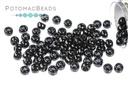 Toho Seed Beads - Opaque Jet 8/0