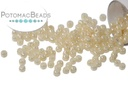 Toho Seed Beads - Opaque Lustered Light Beige 11/0