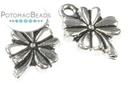 Charm - 4 Leaf Clover Silver