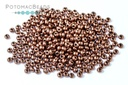 Czech Seed Beads - Vintage Copper 11/0 (Factory Pack)