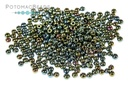 Czech Seed Beads - Green Iris 11/0 (Factory Pack)