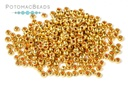 Czech Seed Beads - Metallic Gold 11/0 (Factory Pack)