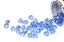 Potomac Crystal Rondelle Beads - Light Sapphire AB 1.5x2mm