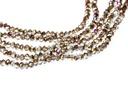 Potomac Crystal Rondelle Beads - Crystal Sliperit 1.5x2mm