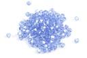 Potomac Crystal Bicones - Light Sapphire AB 4mm