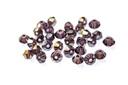 Potomac Crystal Bicones - Light Tanzanite AB 3mm