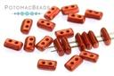 Piros Par Puca Beads - Lava Red (Red Metallic Matte)