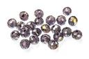Potomac Crystal Rondelle Beads - Light Tanzanite AB 3x4mm