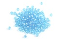 Potomac Crystal Rondelle Beads - Aqua AB 2x3mm