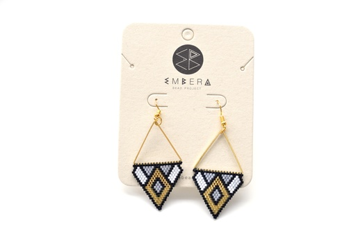 [125] Embera Earrings - El Medellin