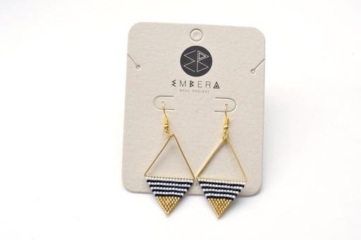 [127] Embera Earrings - Nautico