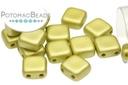 Czech 2-Hole Tile Beads - Metallic Sun (closeout)