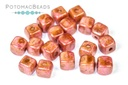 Czech Cube Beads - Spices Chilli