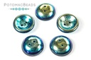 Cup Buttons - Jet AB Full (30 pack)