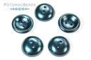 Cup Buttons - Pastel Petrol (5 pack)
