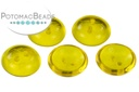 Cup Buttons - Amber (5 pack)