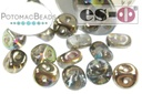 Es-o Beads - Crystal Graphite Rainbow 5mm