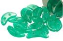 Crescent Beads - Atlantis Green 3x10mm