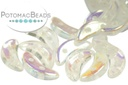 Crescent Beads - Crystal AB 3x10mm