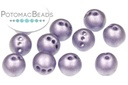 RounTrio Beads - Metallic Violet (Factory Pack) 6mm