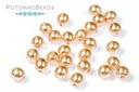 Czech Pearls - Desert Sand Shiny 3mm