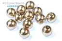 Czech Pearls - Cocoa Shiny 6mm