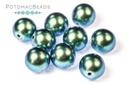 Czech Pearls - Moonstone Blue Shiny 8mm