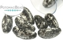 Chilli Bead - Tweedy Silver 4x11mm